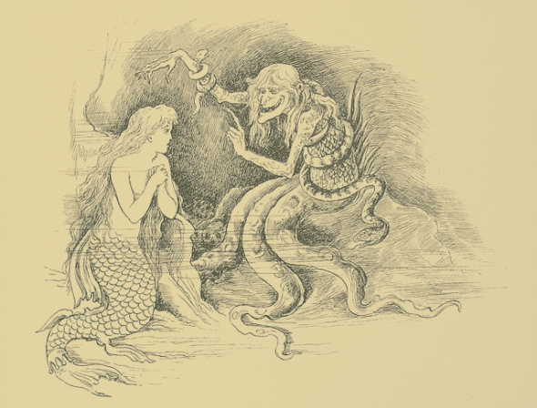 Mermaid and octowoman ed