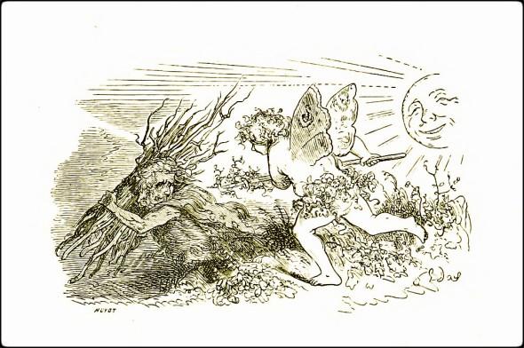 wood fairy Le Chemin des Écoliers