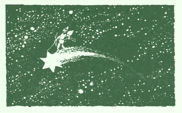 falling star green