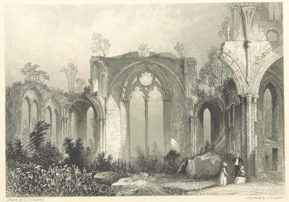 Gothic Abbey for Kit via BL